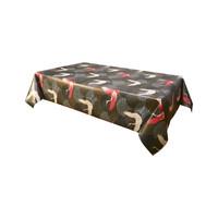 Home Napkin, table cloth, place mats Habitable ENVOL - NOIR - 140X200 CM Black