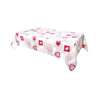 Home Napkin, table cloth, place mats Habitable AUDREY - ROUGE - 140X200 CM Red