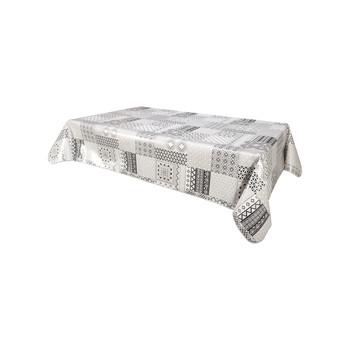 Home Napkin, table cloth, place mats Habitable IDALY - GRIS - 140X200 CM Grey