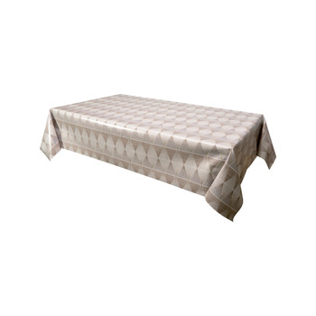 Home Napkin, table cloth, place mats Habitable KING - MARRON - 140X200 CM Brown