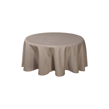 Home Napkin, table cloth, place mats Habitable NORWICH - TAUPE - DIAM 180 CM Taupe