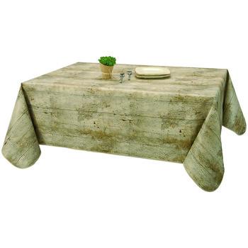 Home Napkin, table cloth, place mats Habitable COTTAGE NATUREL - MARRON - 140X200 CM Brown