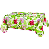 Home Napkin, table cloth, place mats Habitable TROPIC - VERT - 140X200 CM Green