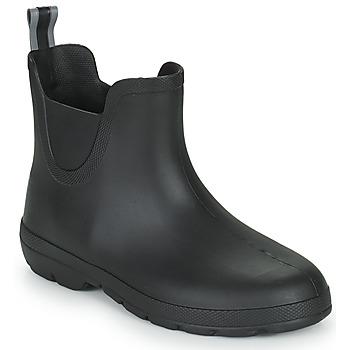 Shoes Women Wellington boots Isotoner 93701 Black