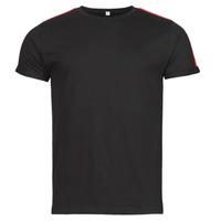 material Men short-sleeved t-shirts Yurban  Black