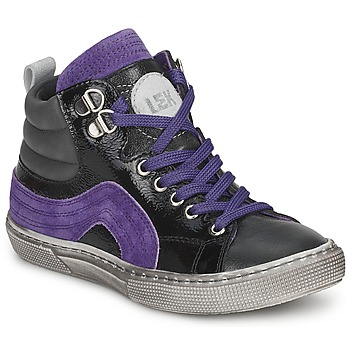 Trainers Little Mary OPTIMAL Black / Violet 350x350