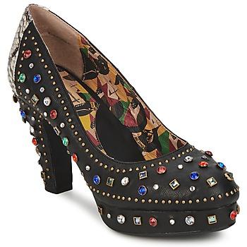 Shoes Women Court shoes Miss L'Fire SHOWGIRL Black