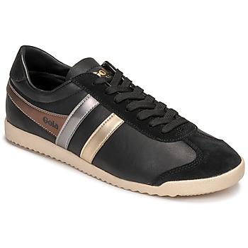 Shoes Women Low top trainers Gola BULLET TRIDENT Black / Gold