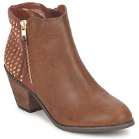 Shoes Women Ankle boots Blink MARA CAMEL