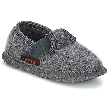 Shoes Children Slippers Giesswein TÜRNBERG Grey