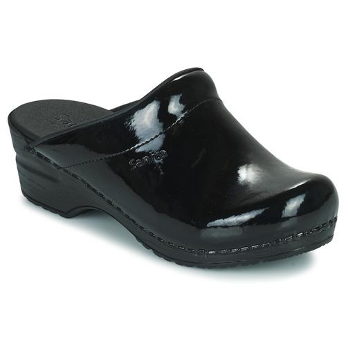 Shoes Women Clogs Sanita SONJA OPEN Black