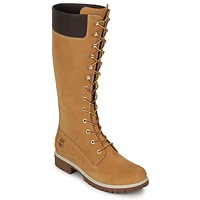 Shoes Women Boots Timberland WOMEN'S PREMIUM 14IN WP BOOT Cognac