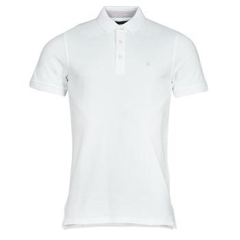 material Men short-sleeved polo shirts Jack & Jones JJEPAULOS White
