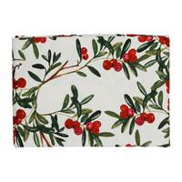 Home Napkin, table cloth, place mats Côté Table AIRELLE Red