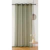 Home Sheer curtains Linder ETAMINE GIVREE Kaki