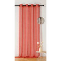 Home Sheer curtains Linder ETAMINE GIVREE Brown
