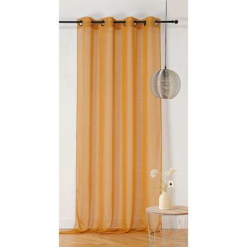 Home Sheer curtains Linder ETAMINE GIVREE Yellow