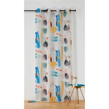 Home Sheer curtains Linder MAJORQUE White