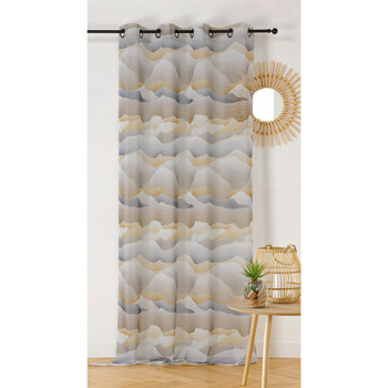 Home Sheer curtains Linder DUNE White