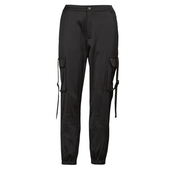 material Women Cargo trousers  Yurban  Black