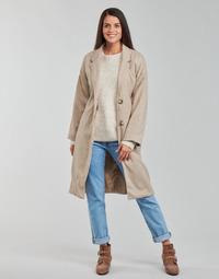 material Women coats Betty London PIXIE Beige