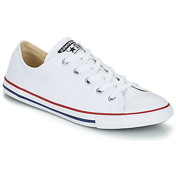Shoes Low top trainers Converse ALL STAR DAINTY OX White / Red