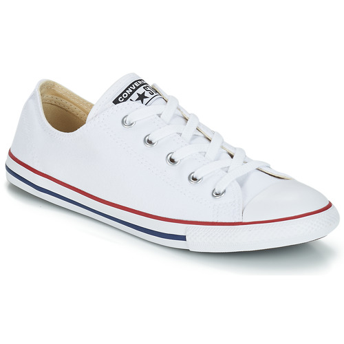 a6fbef00e0791e Converse ALL STAR DAINTY OX White   Red - Fast delivery with Spartoo ...