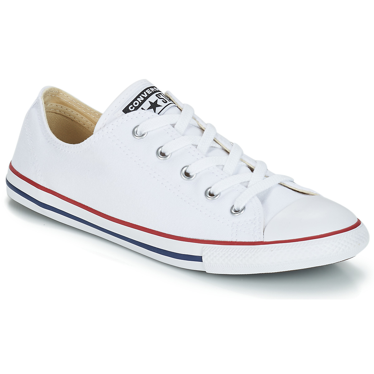 Converse ALL STAR DAINTY OX White / Red