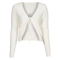 material Women Jackets / Cardigans Yurban  White