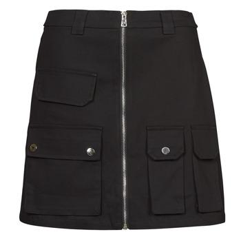 material Women Skirts Yurban  Black