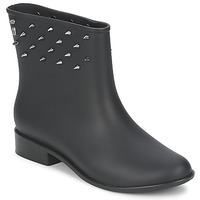 Shoes Women Mid boots Melissa MOON DUST SPIKE Black
