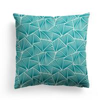 Home Cushions covers Maison Jean-Vier Palma Emerald