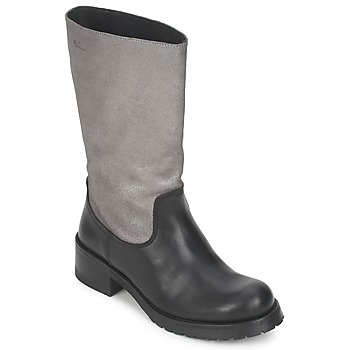 Shoes Women Boots Pastelle PETULA Silver Black