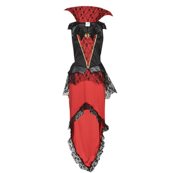 material Girl Fancy Dress Fun Costumes COSTUME ADOLESCENT BLOODTHIRSTY QUEEN Multicolour