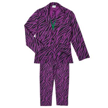 material Boy Fancy Dress Fun Costumes COSTUME ADOLESCENT LE MECHANT Multicolour