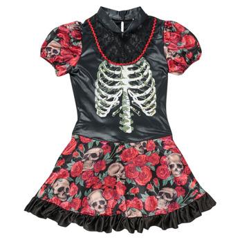 material Girl Fancy Dress Fun Costumes COSTUME ADOLESCENT NINA CATRINA Multicolour