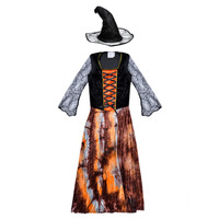 material Girl Fancy Dress Fun Costumes COSTUME ENFANT DAZZLING WITCH Multicolour