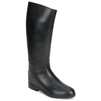 Shoes Women Boots Aigle ECUYER M Black