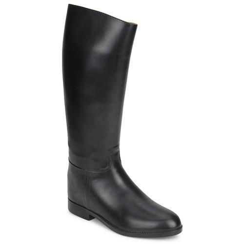 Shoes Women Boots Aigle ECUYER M Black