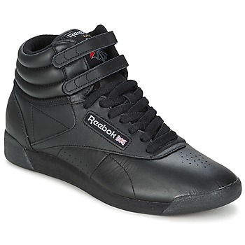 Shoes High top trainers Reebok Classic FREESTYLE HI Black