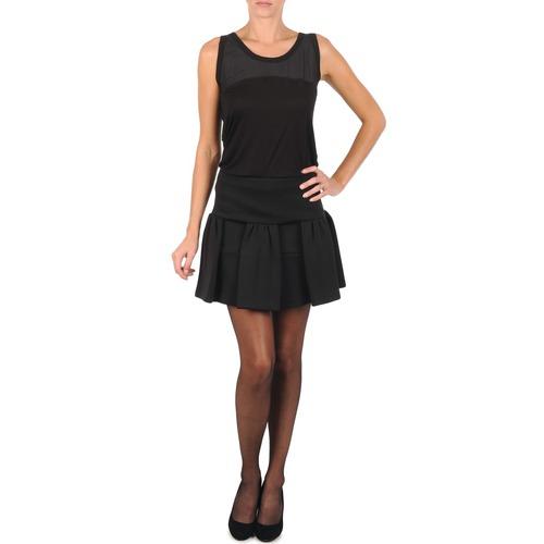 material Women Skirts Manoush JUPE MERINGUE Black