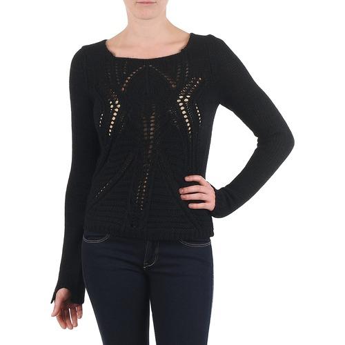 material Women jumpers Antik Batik LACE Black