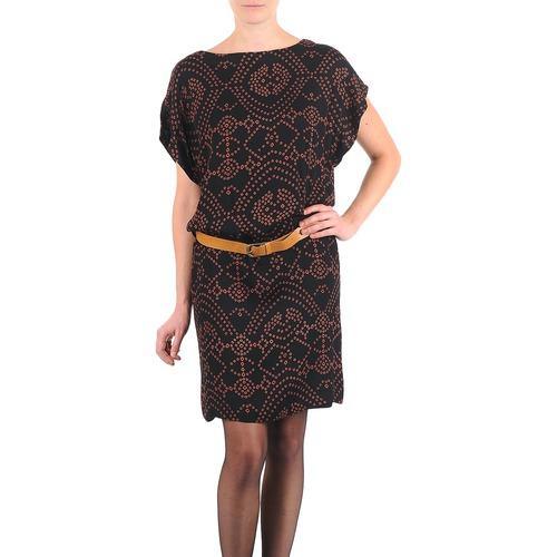 material Women Short Dresses Antik Batik QUINN Black