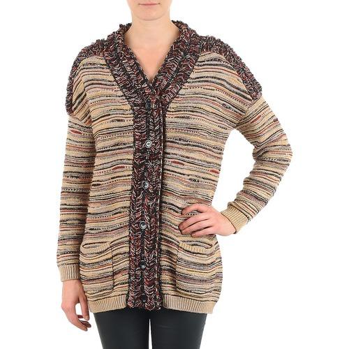 material Women Jackets / Cardigans Antik Batik WAYNE BEIGE