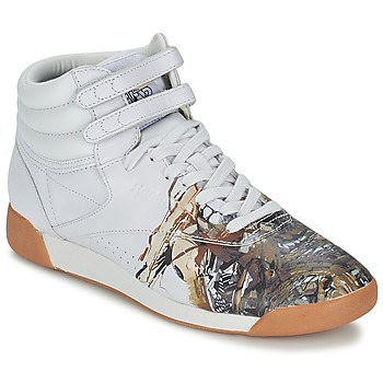 Shoes Women High top trainers Reebok Sport F/S HI INT R12 White