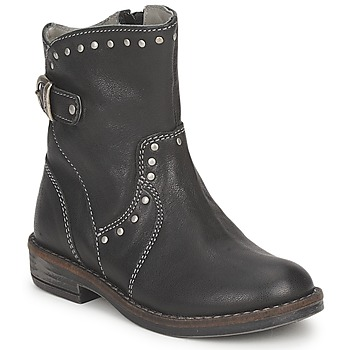 Shoes Girl Mid boots Noel FRANCA Black