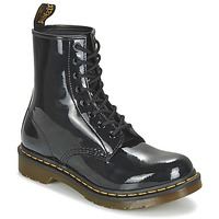 Shoes Women Mid boots Dr Martens 1460 W Black