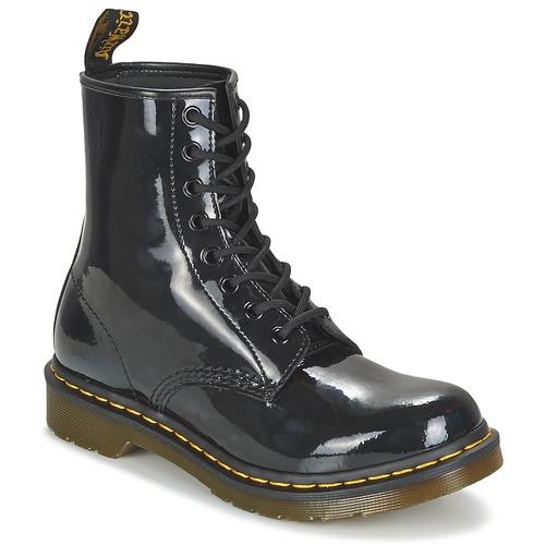 Shoes Women Mid boots Dr Martens 1460 W Black