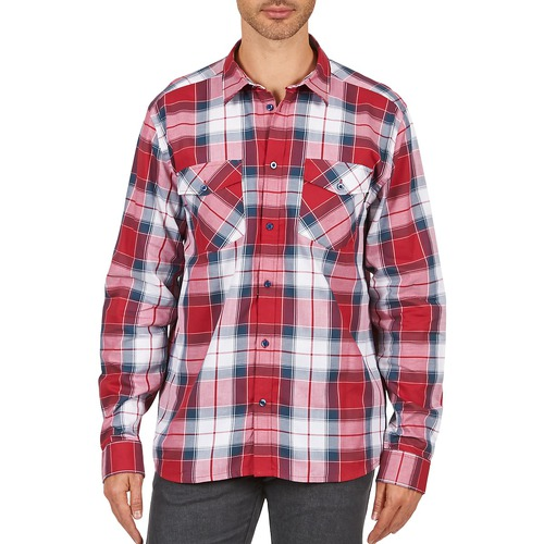 material Men long-sleeved shirts Wesc JOEY Red