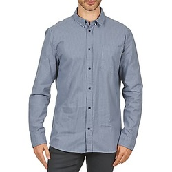 material Men long-sleeved shirts Wesc YANIK Blue